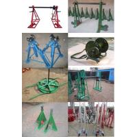 Buy cheap Cable Drum Jacks,Cable Drum Handling,Hydraulic lifting jacks for cable drums product