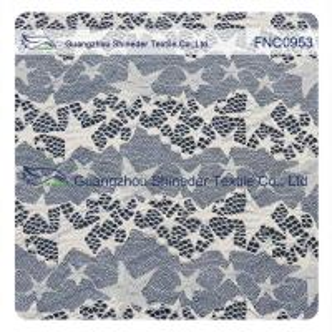 Buy cheap Lace Fabirc Cotton Nylon Fabirc (FNC) Stars width 1.5m for dress from wholesalers