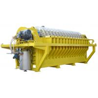 Buy cheap Solid - Liquid Separation Ceramic Disc Filter , Rotary Disk Filter Easy Operation product