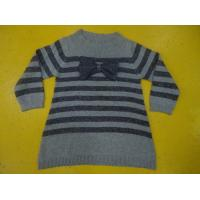 Buy cheap 3 - 8 Years Old Girls Stylish Top Girls Pullover Sweater Bow Chest Metallic product
