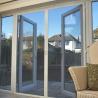 Buy cheap Modern Bathroom Glass Aluminum Hinged Sliding Doors For Residential House from wholesalers