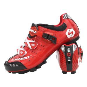 China Bike Waterproof Cycling Footwear / Men's Nylon+TPU Mountain Bike Shoes on sale