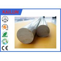Buy cheap 6063 Aluminium Round Bar Stock , OD 12 Mm Solid Aluminum Rod For Shafts / Stakes / Ornamental product