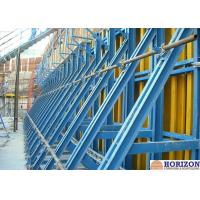 Buy cheap Painted Finishing Single Sided Wall Formwork  For Retaining Concrete Construction product