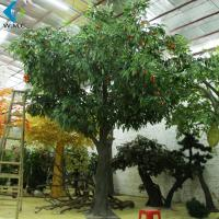 Buy cheap 4m Height Artificial Fruit Tree , Lychee Fruit Tree With Fiberglass Trunk product