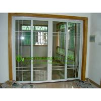 Residential upvc sliding door with grilled double glazed for Residential sliding doors