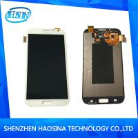 China Phone Parts Mobile Phone LCDS Screen For Samsung Galaxy Note 2 With Frame LCD Digitizer Assembly Wholesale And Retail on sale