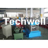 Buy cheap C Purlin Forming Machine / Cold Roll Forming Machine with Gearbox Drive for Steel C Purlin product