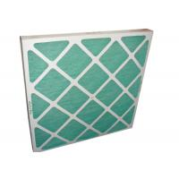 Buy cheap Electronic Furance Pleated Panel Air Filters Performance With Cardboard Frame G4 from wholesalers