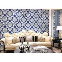 Buy cheap Modern Style PVC Damask Low Price Wallpaper for Office / House Decoration , SAC CE product
