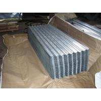 Buy cheap SGCH , SGCC, G550, JIS G3302 steel spangle Galvanized Corrugated Roofing Sheet / Sheets product