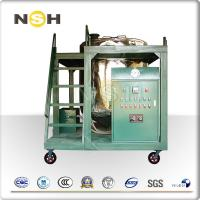 China Low Noise Hydraulic Oil Filtration Machine For Engine Oil Treatment Industrial on sale