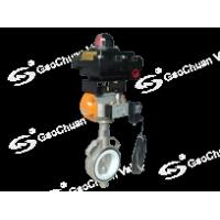 Buy cheap explosion-proof pneumatic disc valve product