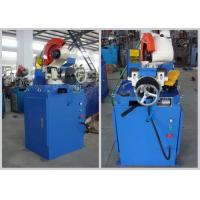 Buy cheap High Speed Steel Tube Cutting Machine , Pipe Cutting Equipment Stable Performance product