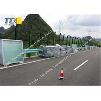 Buy cheap Light Weight Highway Noise Barrier Perforated Construction Noise Barrier Fence product