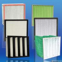 Buy cheap 99.999% High Efficiency And Capacity Aluminum pleated Hepa for HVAC industry filter product