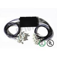 Buy cheap 1 x 2 50 DB Multimode Fiber Coupler OM 1 Intergrated Box 1310 nm LC / UPC Connector product