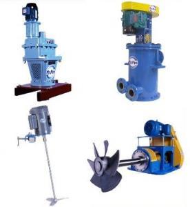 Buy cheap Professional 0 ~ 5000L 380V, 410V sewage mixing agitator, Industrial Mixers Agitators product