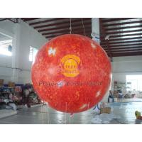 Buy cheap 2.5m helium PVC Fireproof with B1 Certificate and Waterproof Sun Earth Balloons Globe with Total Digital Printing product