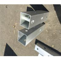 Buy cheap Q235 Material Metal Fence Accessories Steel Perforated Square Tube ISO9001 CE product