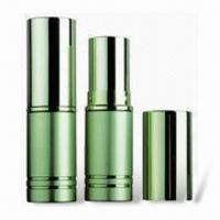 Buy cheap Lipstick Tube with 72mm Height and 19.5mm Diameter, Customized Colors are Accepted product
