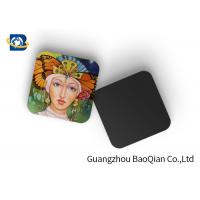 Buy cheap Square Wine Tea Cup Custom Printed Coasters 3D Lenticular Printing Service product