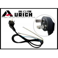 Buy cheap Right Angle 10A 250V 3 Pin Appliance Extension Cord For Refrigerator Chinese Standard product