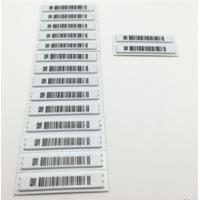 Quality White Anti Shoplifting Label Electronic Shelf For Valuables Security Flat Steel for sale