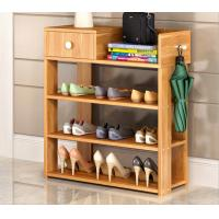 Buy cheap Simple style Wood grain Particle Board Shoe cabinet with many racks for choose product