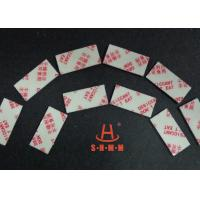 Buy cheap Fiber Rice Desiccant With Thin Sticker Tape , Food Grade Desiccant Packets 1.0mm Thickness product