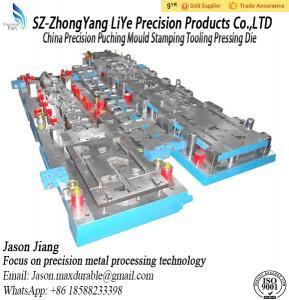 Buy cheap O molde de Puching da precisão de China que carimba a pressão do trabalho feito com ferramentas morre product