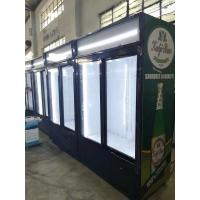 Buy cheap Upright Commercial Cold Drink Beverage Cooler For Retail Store With Glass Door from wholesalers