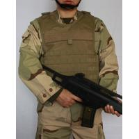 China Counter Terrorism Bulletproof Vest Body Armor 500D Cordura Out Cover Material on sale