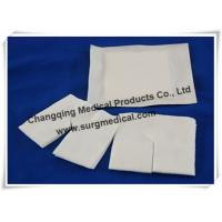 China  O  Or  Y  Cutting Non Woven Tracheostomy Gauze Wound Dressing Drain Sponge on sale