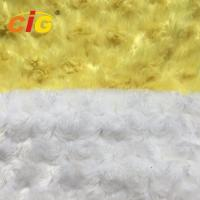 Buy cheap Emboss 100% Polyester Faux Fur Fabric For Furniture Seat / Car Seat Cover product