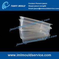 Buy cheap Expertise in thin wall rectangular food container moulded products -250g product