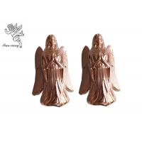 Quality Copper Coffin Furniture Casket Corners Plastic Angel Pattern American Style for sale