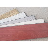 China Wear Resistant SPC Vinyl Flooring Beveled Edge Maple Color With Wood Texture on sale