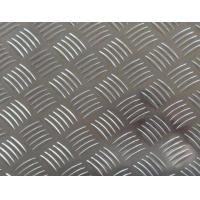 Buy cheap Easy Processing Aluminum Tread Plate , Coil 5 Bar Chequered Embossed Aluminum Sheet Plate product