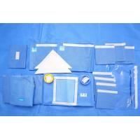 Breathable SMMS EO Sterile Fenestrated Drape Packs for Clinic Surgery