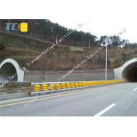 Buy cheap Anti Crash Roller Crash Barrier Q235 Q265 Steel Frame , Roller Safety Barrier from wholesalers