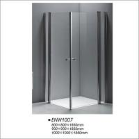 Buy cheap Square Pivot Door Shower Enclosures Modern Shower Screen 800*800 900*900 product