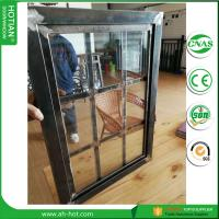2017 Latest Design Steel Security Windows Steel Fixed Grid Window