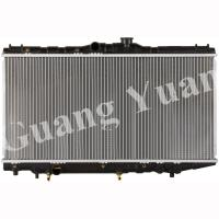 Buy cheap Auto 92 Toyota Corolla Radiator / AT170 Toyota Corona Radiator 88-92 OEM 16400 15380 DPI 539 537 product