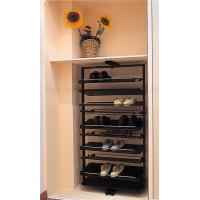 Buy cheap 1437mm Height Closet Revolving Shoe Rack, Durable Metal Rotating Vertical Shoe Racks product