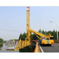 Buy cheap \SINO TRUK 15M Platfrom Bridge Inspection Vehicle Easy Operation And Easy Access product