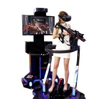 Buy cheap Exclusive Shooting Game Virtual Reality Simulator For Game Zone Customized Color product