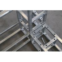 Quality Light Duty Steel Stage Truss , Adjustable Steel Roof Trusses For Metal Building for sale