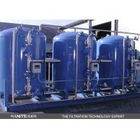 Buy cheap Power plant water filtering system with back blow system of automatic cleaning control product