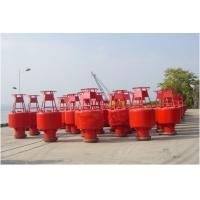Buy cheap Inland River Steel Marine Mooring Buoys For Boat , 2070-2682mm Focal Height product